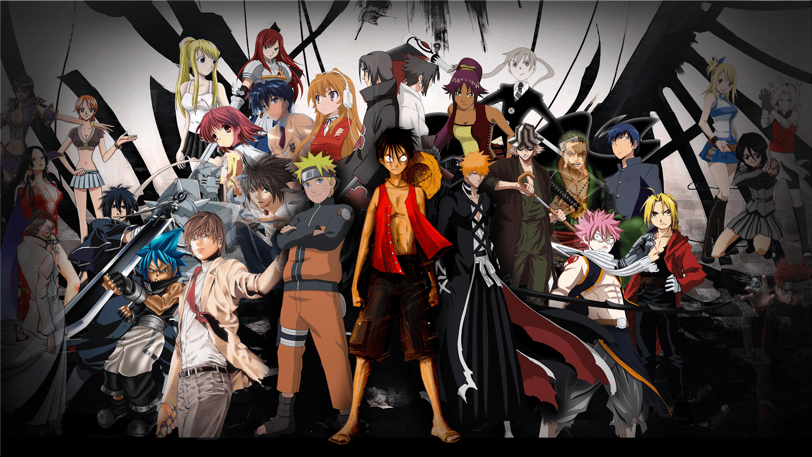 Anime Protagonists Picture