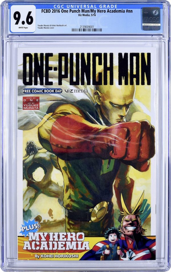 One Punch Man First Comic