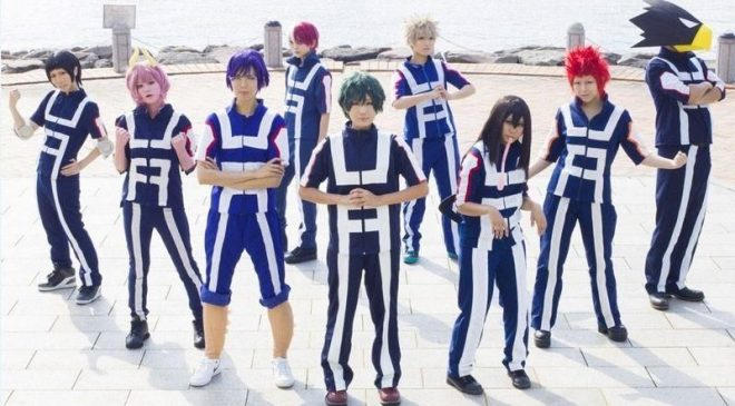 My Hero Academia Cosplay Group